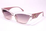 Женские солнцезащитные квадратные очки Дольче Габбана 2091 C5 реплика в розовой оправе