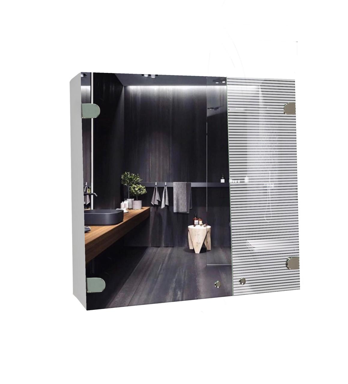 Шкаф-зеркало (53*64*12см) ШК842