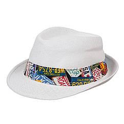 Шляпа детская ЧШ008 белый р.54