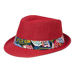 Шляпа детская ЧШ008 бордо р.54