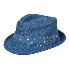 Шляпа детская ЧШ007 синий р.54