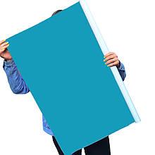 Однотонный виниловый фотофон голубой