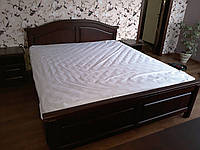 Спальный комплект мебели из натурального дерева Ольха,под заказ