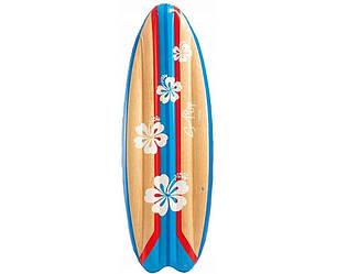 """Детский надувной матрас для серфинга """"СЁРФИНГ"""" INTEX 178х69см, (Интекс) матрас для плавания (воды)"""