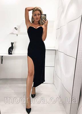 Оксамитове вечірній корсетні плаття, розміри XS, S, M, L