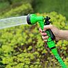 Садовый водяной шланг для полива XHOSE 15 м Зеленый