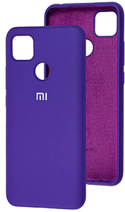 Чехол Оригинал Silicone Case Xiaomi Redmi 9C (фиолетовый)