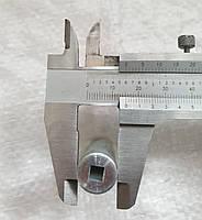 Втулка перехідник між тросами алюміній для мотокіс, фото 2