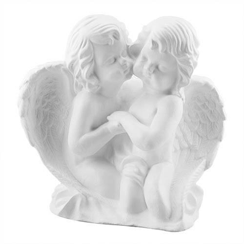 Статуетка Decoline Ангел парочка білі,  (гіпс) AN0018(G)