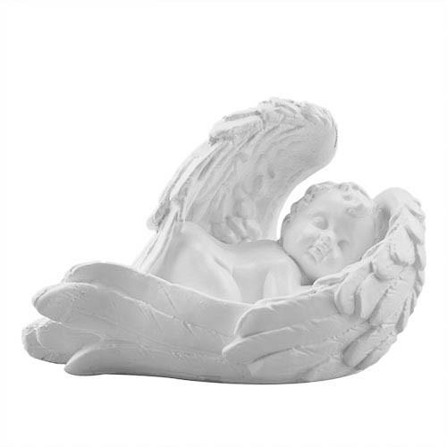 Статуетка Decoline Ангелик на крилі (S) білий,  (гіпс) AN0722(G)
