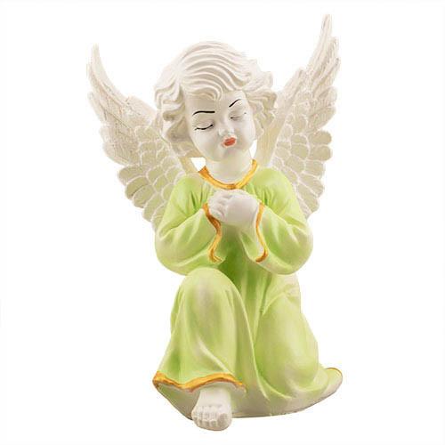 Статуетка Decoline Ангел в молитві кольоровий,  (гіпс) AN0705-5(G)