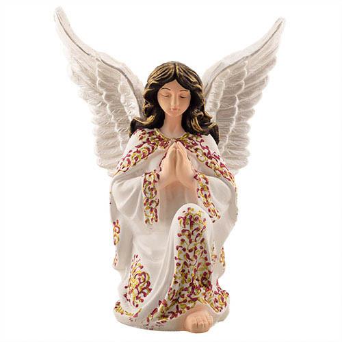 Статуетка Decoline Ангел молиться  кольоровий,  (гіпс) AN0702-4(G)