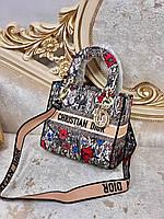 Яркая женская сумочка LADY DIOR, фото 1