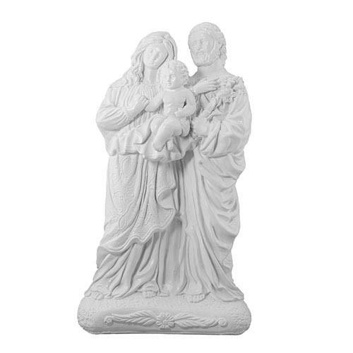 Статуетка Decoline Свята родина з дитиною біла, (гіпс) R0210(G)