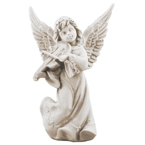 Статуэтка Decoline Ангел со скрипкой песочные, (гипс) AN0732-7 (G)