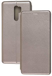 Чехол-книжка Оригинал Xiaomi Redmi 9C (серый)