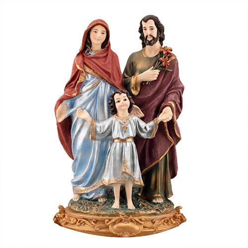 Статуетка Decoline Божа родина кольорова,  (гіпс) R0208-6(G)