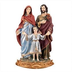 Статуэтка Decoline Божья семья цветная, (гипс) R0208-6 (G)