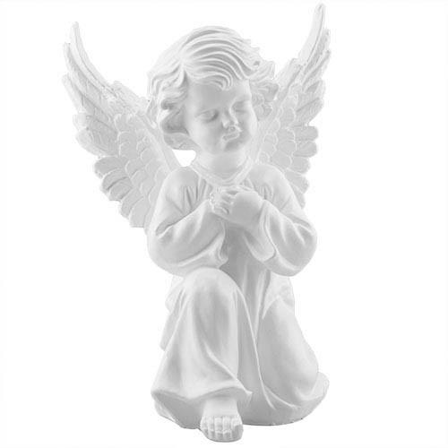 Статуэтка Decoline Ангел в молитве белый, (гипс) AN0705 (G)