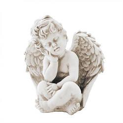 Статуетка Decoline Ангел маленький пісочний, (гіпс) AN0003-7(G)