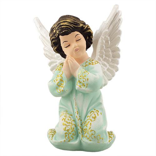 Статуэтка Decoline Ангел в молитве рис. цветной, (гипс) AN0032-5 (G)