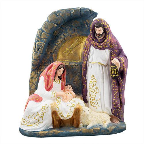 Статуэтка Decoline Вертеп Рождественский цветной, R0239-1 (G)
