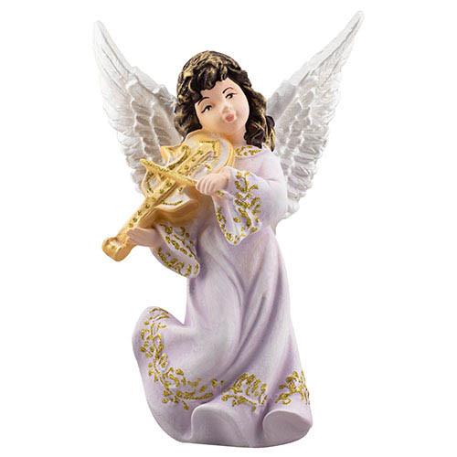 Статуетка Decoline Ангел з скрипкою кольоровий, (гіпс) AN0732-1(G)