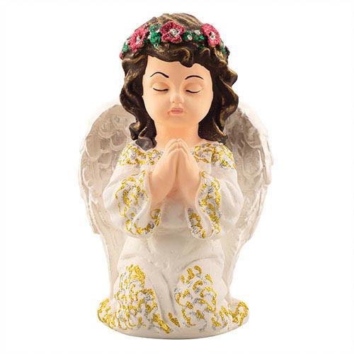 Статуетка Decoline Ангел в молитві кольоровий,  (гіпс) AN0730-4(G)