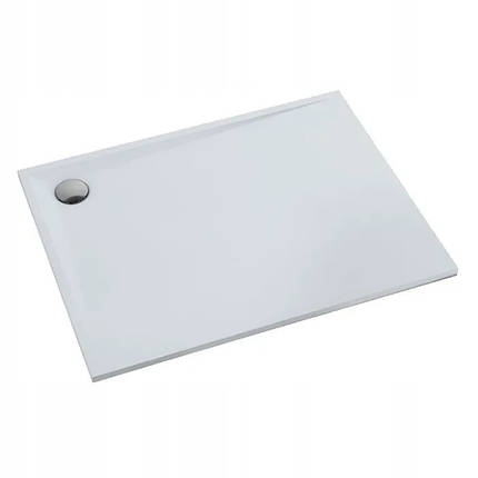 Піддон для душу Schedpol Libra Smooth White 100 см x 80 см, фото 2