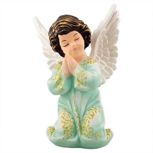 Статуетка Decoline Ангел в молитві мал. кольоровий,  (гіпс) AN0032-1(G)