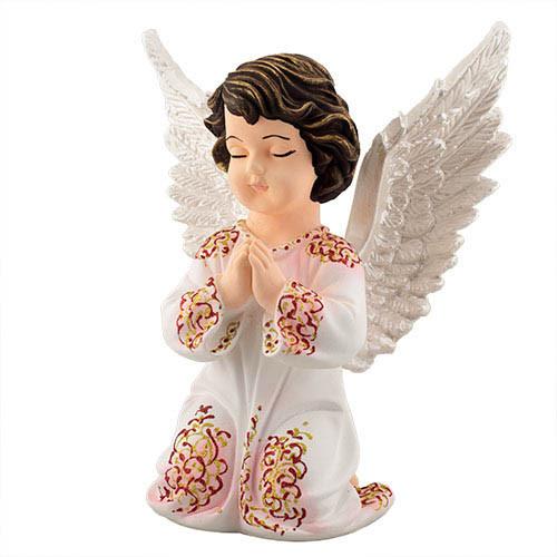 Статуетка Decoline Ангел в молитві кольоровий,  (гіпс) AN0024-4(G)