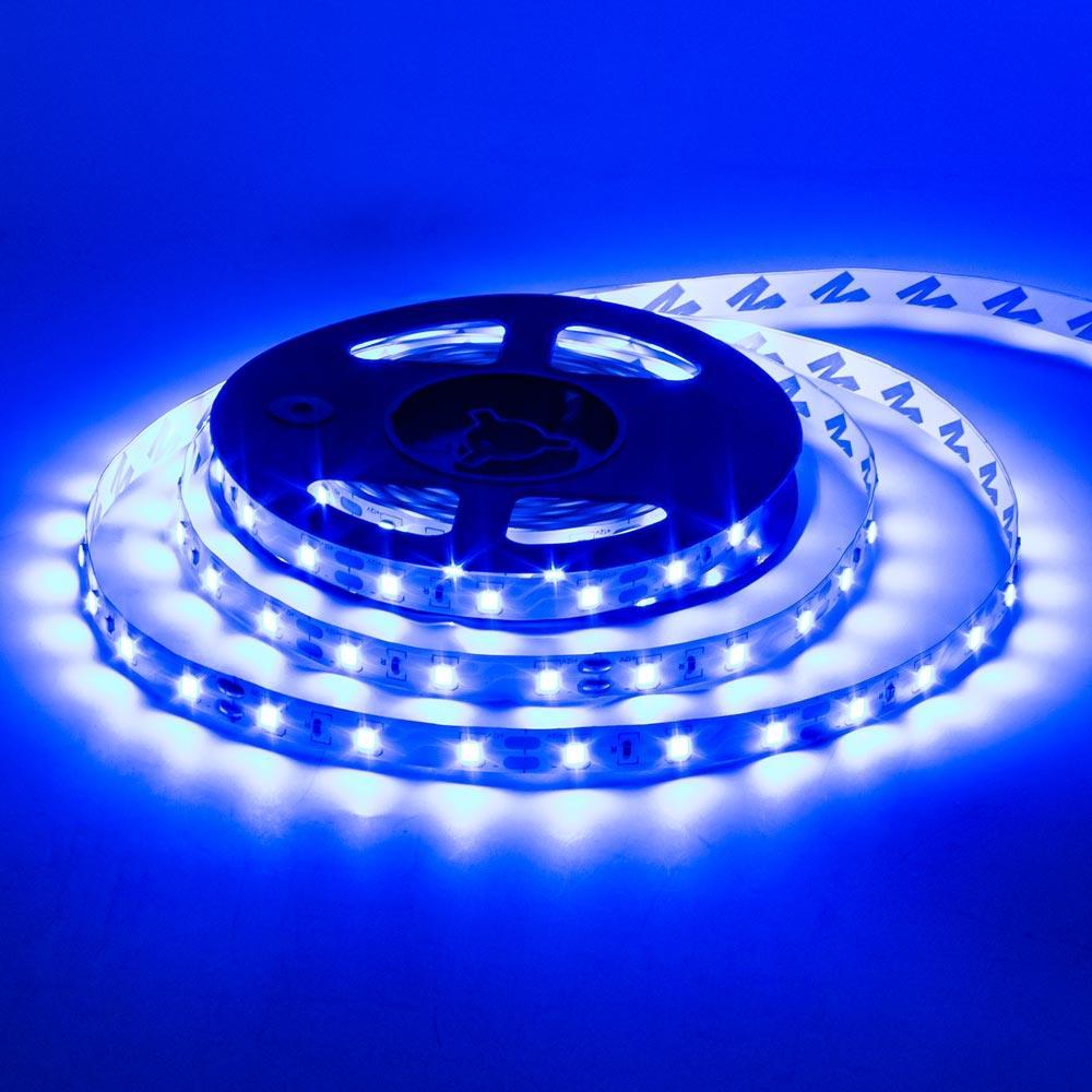 Светодиодная лента Premium YM 12V 3528-120 IP33 BLUE