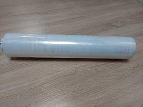 Стретч пленка длина 50 см, толщина 17 мкм, вес 2,2 кг