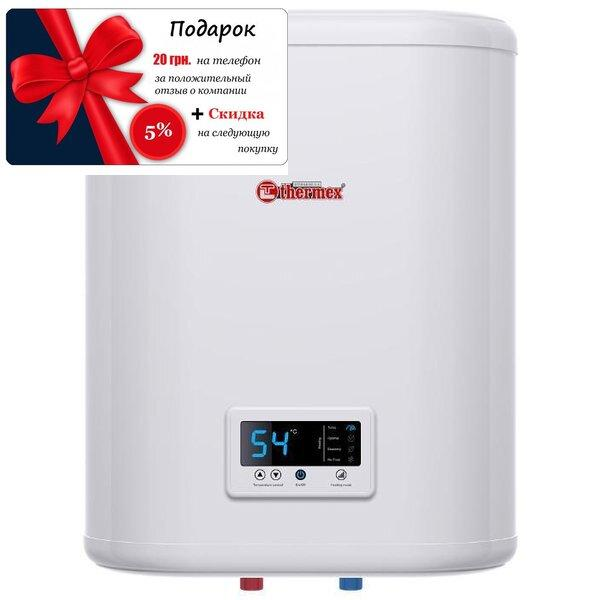 Плоский водонагреватель из нержавейки 30 Flat Plus pro Thermex IF