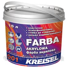Farba Akrylowa 001 - краска акриловая фасадная 15 л