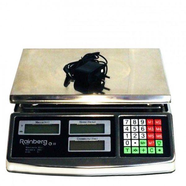 Торгові ваги метал 50 кг RB-305