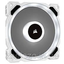 Вентилятор Corsair LL120 RGB (CO-9050091-WW), 120х120х25мм, 4-pin PWM, білий, фото 3