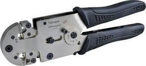 Обжимний інструмент (0.75-10мм) для наконечників зі сжимным кільцем (Haupa) 213092