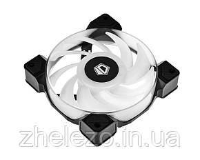 Вентилятор ID-Cooling DF-12025-ARGB Trio (3pcs Pack), 120х120х25мм, 4-pin PWM, чорний, фото 2