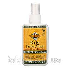 All Terrain, Kids Herbal Armor, натуральный спрей от насекомых, 120мл (4жидк. унции)