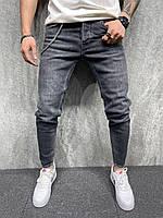 Мужские джинсы 2Y Premium зауженные серые