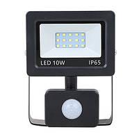 Прожектор LED NEOMAX 10W 220V IP65 6000K с сенсором SLIM, фото 1