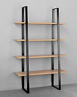 Стеллаж в стиле Лофт, Woodin, 2000x1000x400 SL-0720