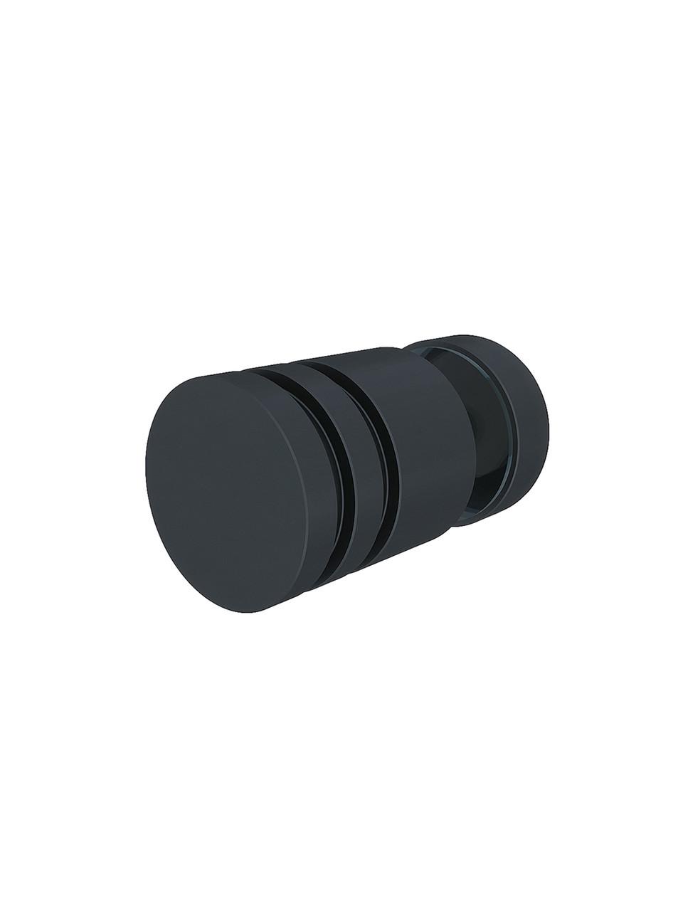 ODF-07-12-21 Ручка для душевых кабин с заглушкой, черная