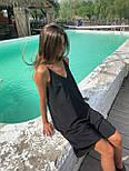 Базовый сарафан летний свободный на тонких бретелях длиной миди (р. S-L) 83032517, фото 6