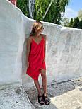 Базовый сарафан летний свободный на тонких бретелях длиной миди (р. S-L) 83032517, фото 5