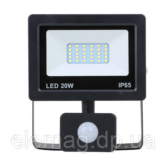 20W Прожектор LED NEOMAX 220V з датчиком руху