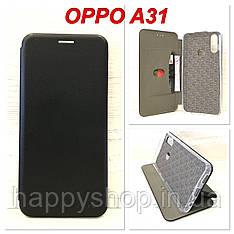 Чохол-книжка G-case для OPPO A31 (Черный)