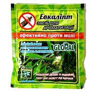 Таблетки от моли с запахом Эвкалипта 10 шт, Global