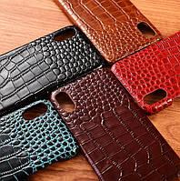 """Чехол накладка полностью обтянутый натуральной кожей для Iphone 11 Pro MAX """"SIGNATURE"""""""